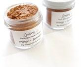 Organic Dry Hair Shampoo | orange + lavender | for dark hair | vegan