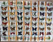 Antique Silk Cigarette Card Mini Quilt