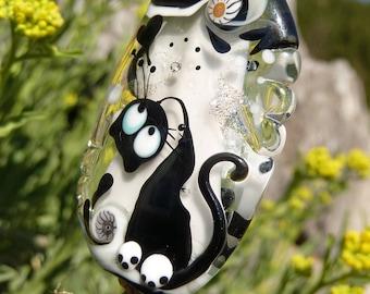 Cat Bead by Ulrike Dietrich