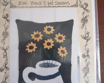 Black Eyed Susans Pillow