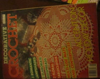 Decorative Crochet September 1988
