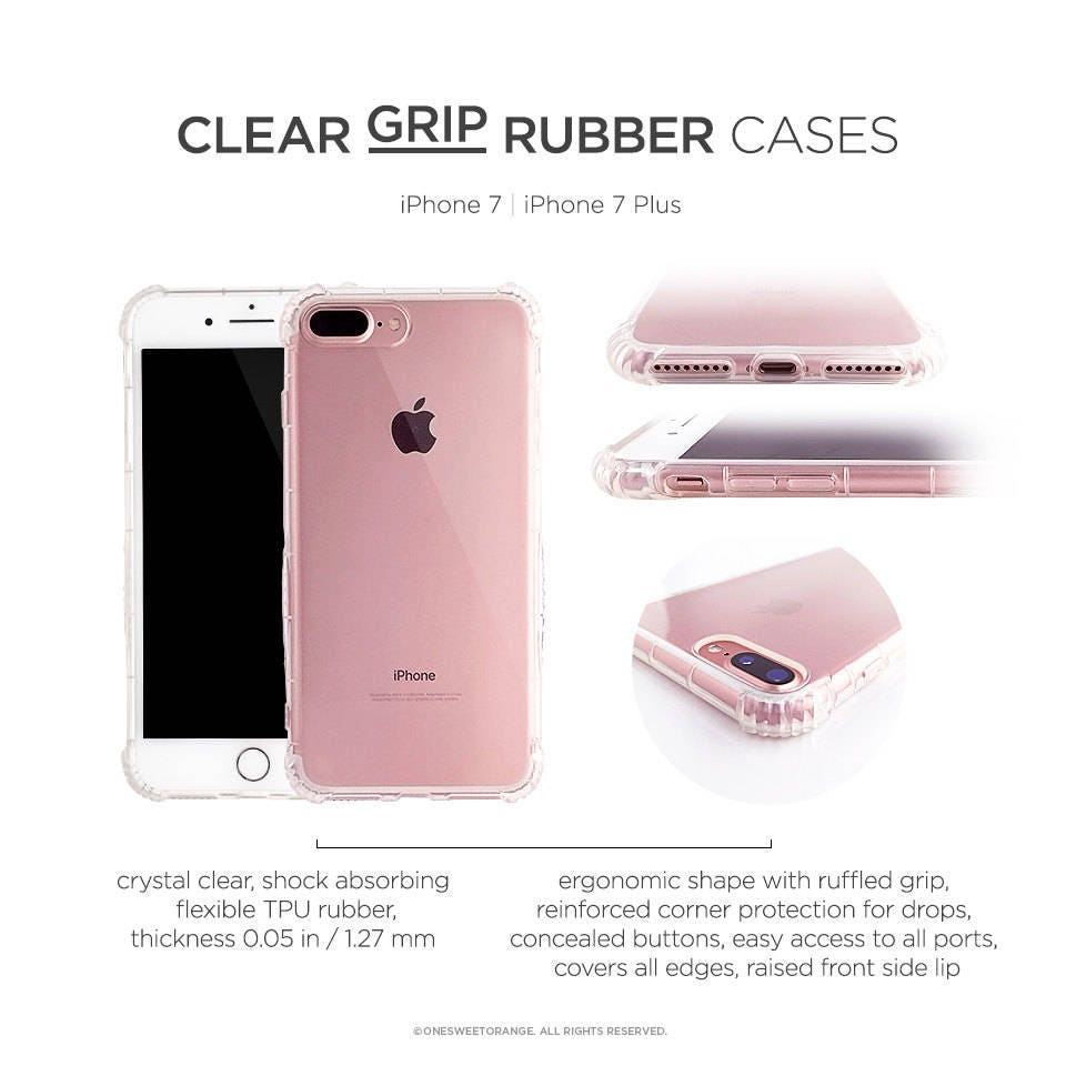sports shoes eb66e 0c3bd iPhone 8 Case iPhone X Case iPhone 7 Case Fall Floral Clear GRIP ...