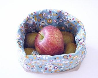 Storage fabric basket