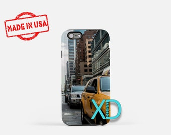 New York City iPhone Case,  Traffic iPhone Case, Car iPhone 8 Case, Taxi, iPhone 6s Case, iPhone 7 Case, Phone Case, iPhone X Case, SE Case