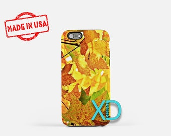 Autumn iPhone Case, Fall Foliage iPhone Case, Leaves iPhone 8 Case, iPhone 6s Case, iPhone 7 Case, Phone Case, iPhone X Case, SE Case
