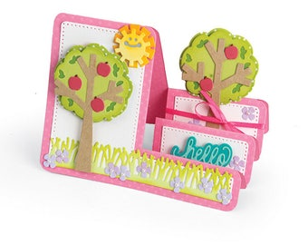 Sizzix - Framelits Die Set 19 Pack - Card - Tree Step-Ups by Stephanie Barnard