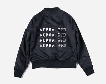 Alpha Phi - Alpha Phi Jacket - Sorority Jacket - Big Little Sorority - ΑΦ - Alpha Phi Stuff - Sorority Jacket - officially licensed