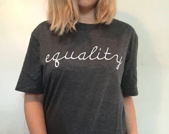 Equality, Equality Shirt, Equal Rights, Equal Rights Shirt, Gender Equality, Equality Clothing, Equality T-shirt, Equal Rights T-shirt