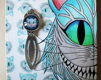 Cheshire Cat bookmark