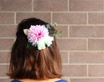 Flower Crown | Bridesmaid headband | Bridal headband | Baby headbands | Flower headband | Flower headpiece | pinks & golds