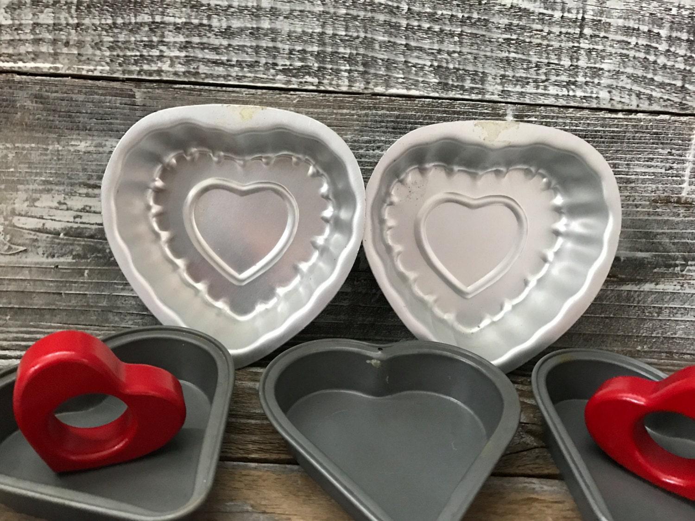 Small Heart Shaped Cake Tins