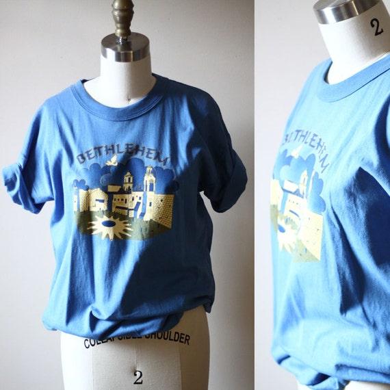 1970s Bethlehem soft tee // 1970s soft t-shirt // vintage t-shirt