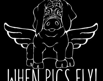 Meishan - When Pigs Fly Decal