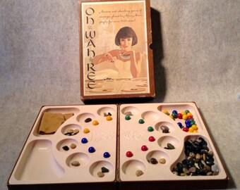 3M Bookshelf Game - Oh Wah Ree - c 1962 - Incomplete -