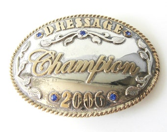 Cornerstone LTD Equestrian Buckle Dressage Champion