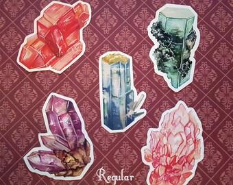 Gemstone Stickers