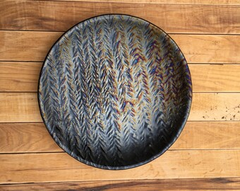 12 Inch Herringbone Tray or Platter
