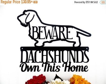 On Sale Chihuahuas Live Here Metal Sign By Refinedinspirations