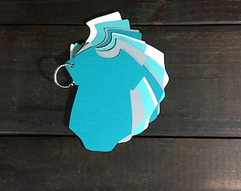 Teal & Turquoise Baby Shower Guestbook