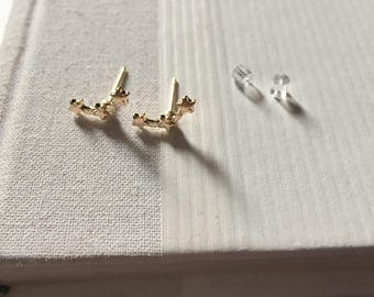Gold/Silver Constellation Surgical Steel Earrings