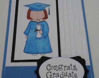 Graduation Card, Girl