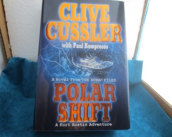 MYSTERY NOVEL Clive Cusslers Polar Shift. 1st. Ed. New with Jacket