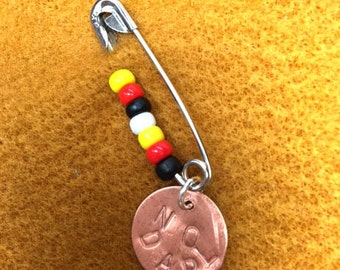 Protest Brooch Standing Rock Brooch Protest DAPL Brooch Safety Pin No DAPL Water Rights