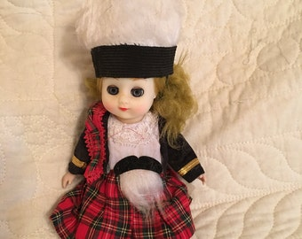 7.5 Doll Dressed in Traditional Clothing