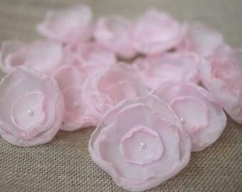 Flowers rose wedding flowers wedding singed flowers wedding decoration flower girl organza rose wedding toss wedding confetti