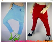 20% Off BJD MSD 1/4 Doll Clothing - Harem Pants - Your Choice of 20 Colors