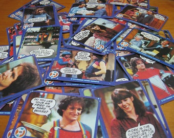 115 mork and mindy trading cards 1978 robin williams vintage