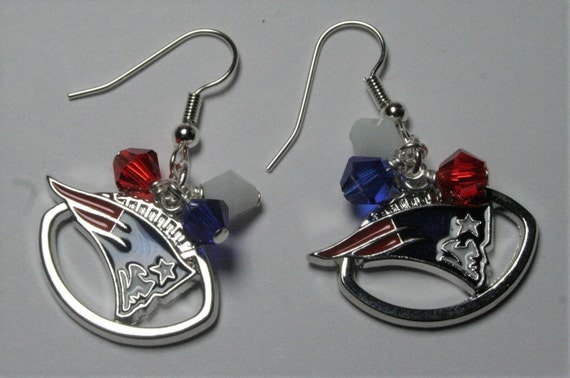 patriots earrings new patriots earrings patriots charm earrings 4804