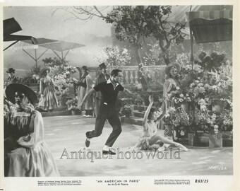 Leslie Caron in American in Paris vintage movie photo