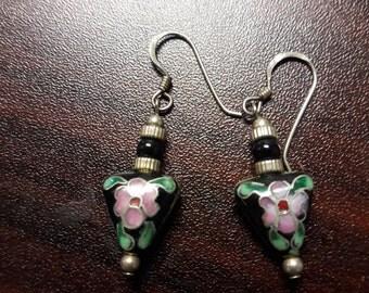 Cute Cloisonne Earrings