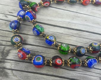 Cloisonne Necklace 18 Inches