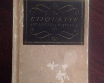 The Etiquette of Letter Writing