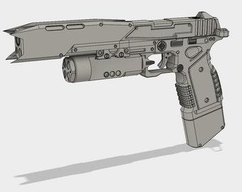 Titanfall 2 Smart Pistol - Model for 3D Printing