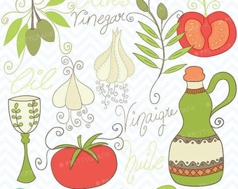 80% OFF SALE Cooking clipart commercial use, vector graphics, digital clip art, digital images - CL365