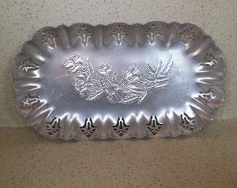 Hammered Aluminum Bread Tray
