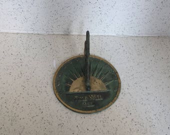 Vintage Sun Dial - Made in Taiwan