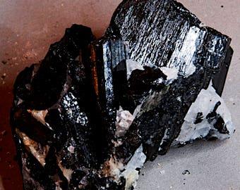 Gorgeous Black Tourmaline Cluster