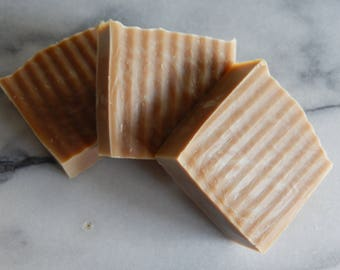 All Natural Handmade Milk Stout Beer Soap