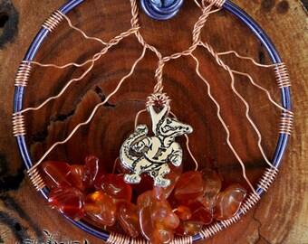 Tree of Life - Florida Gators inspired pendant