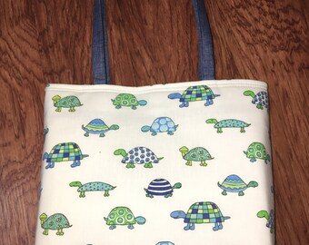 Turtle Tote Bag  New