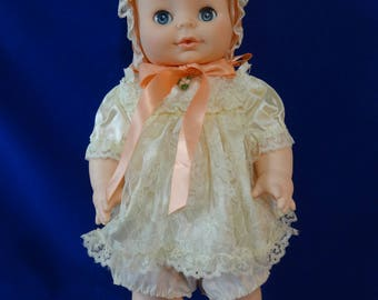 Horsman Doll Vinyl Soft Skin Drink and Wet Excellent Condition 1971