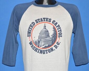 80s United States Capitol Washington DC t-shirt Medium