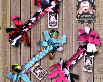 Paisley's Playthings :  Braided Fleece Dog Toy