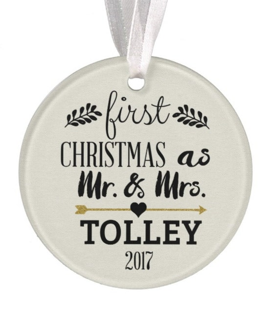 Baptism Ornament Christmas Ornament By Ryellecreations On Etsy: Wedding Ornament Christmas Ornament Personalized Wedding