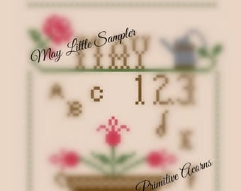 May little sampler cross stitch