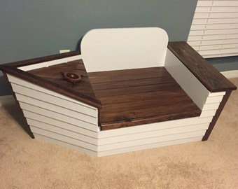 Boat Themed Toy Chest